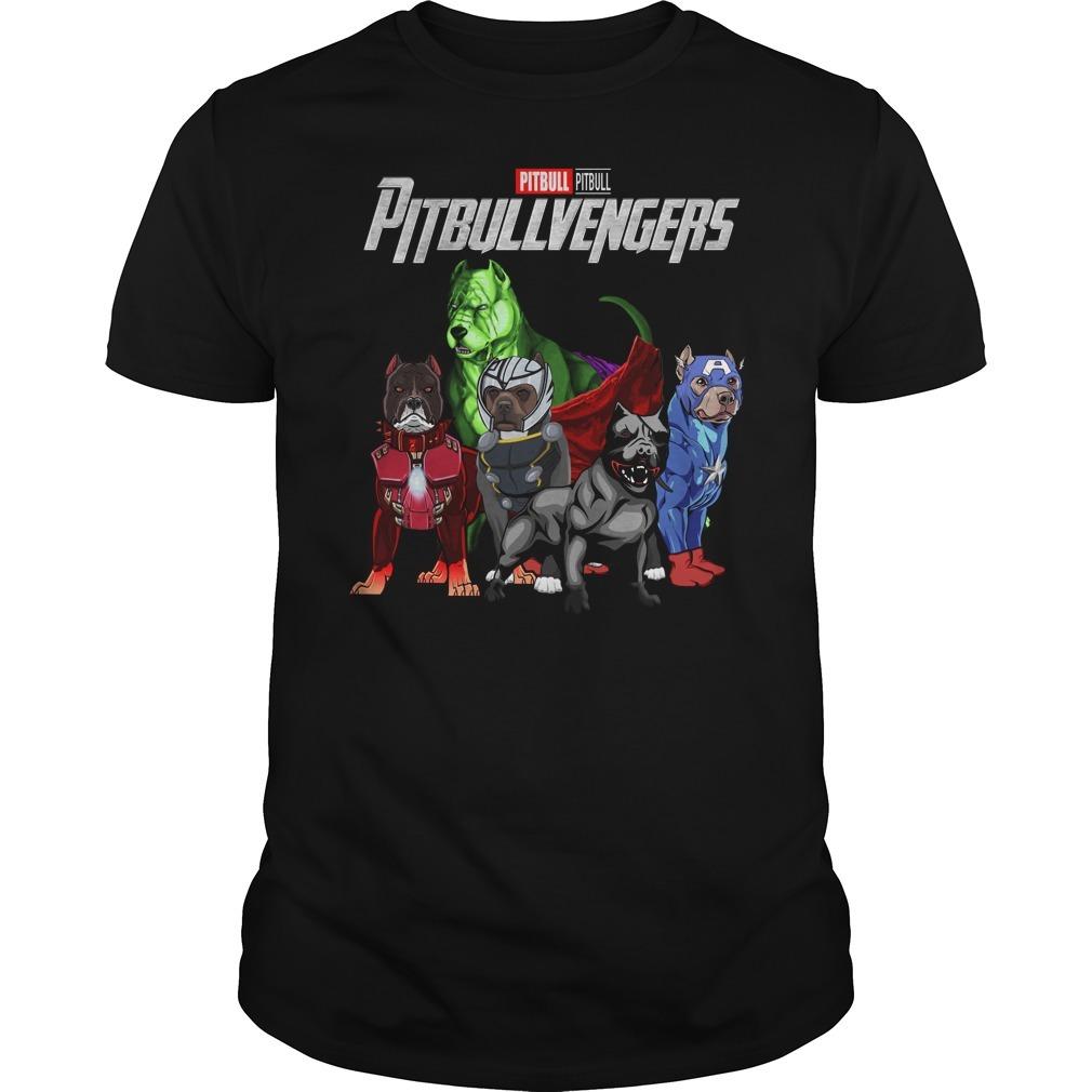 Marvel Avenger endgame pitbull pitbullvengers Guys shirt