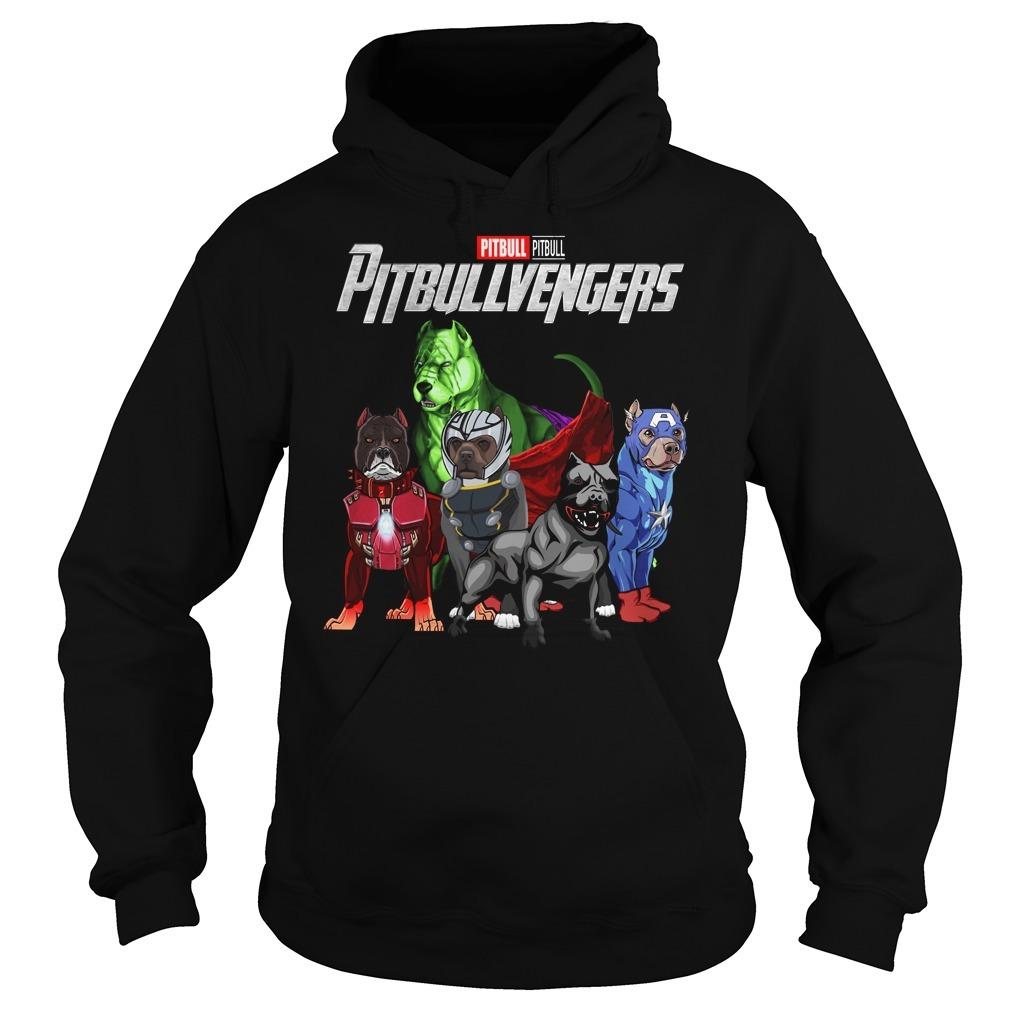 Marvel Avenger endgame pitbull pitbullvengers Hoodie