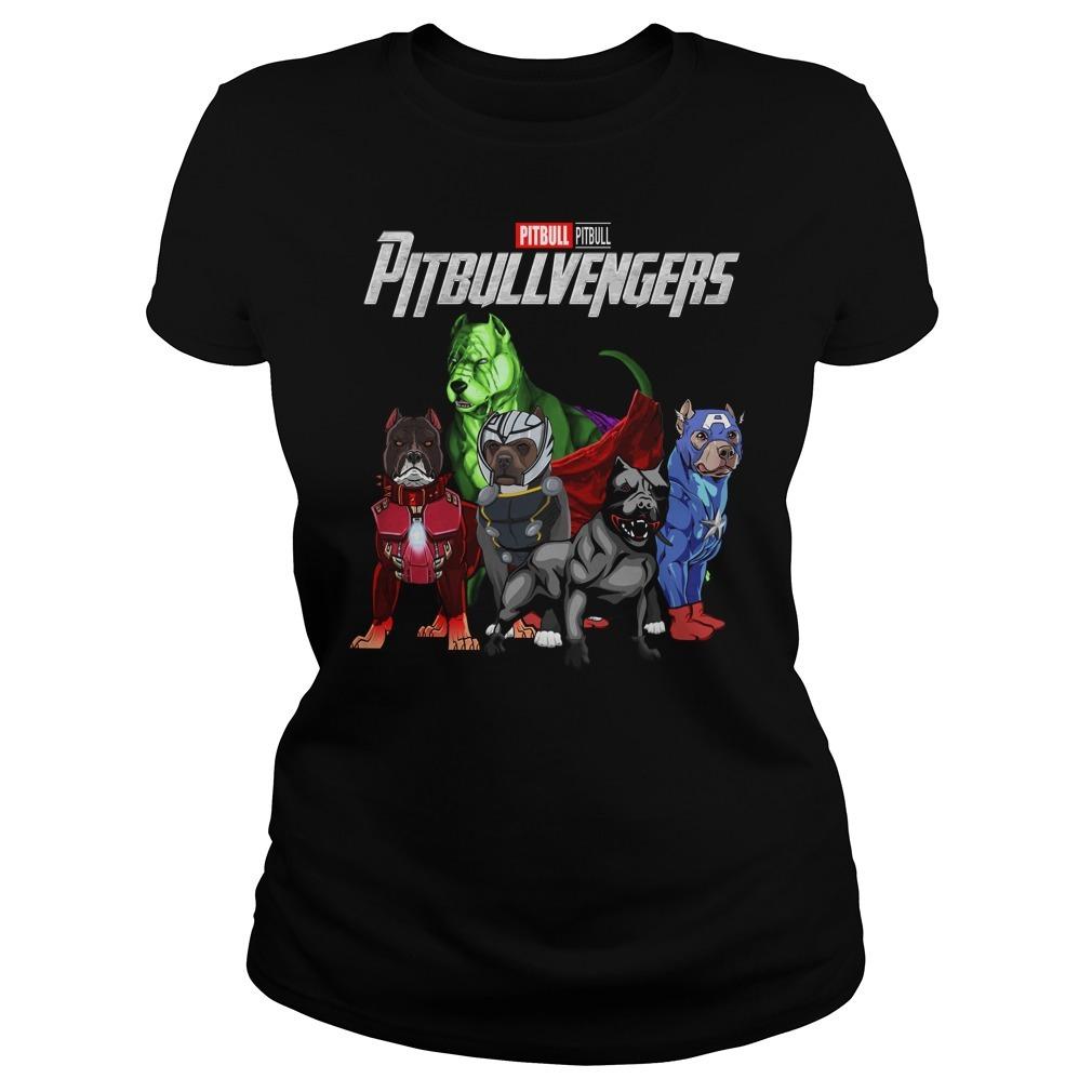 Marvel Avenger endgame pitbull pitbullvengers Ladies Tee
