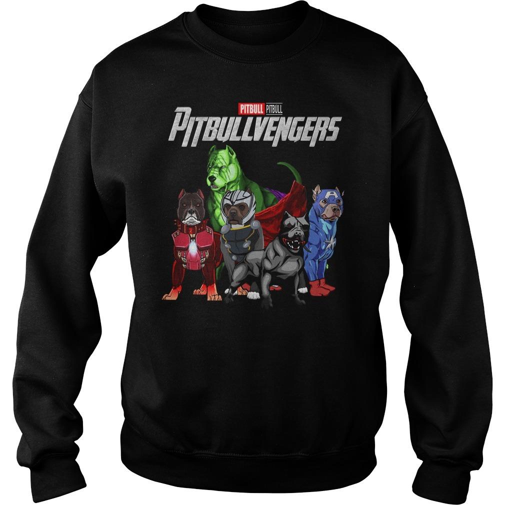 Marvel Avenger endgame pitbull pitbullvengers Sweater