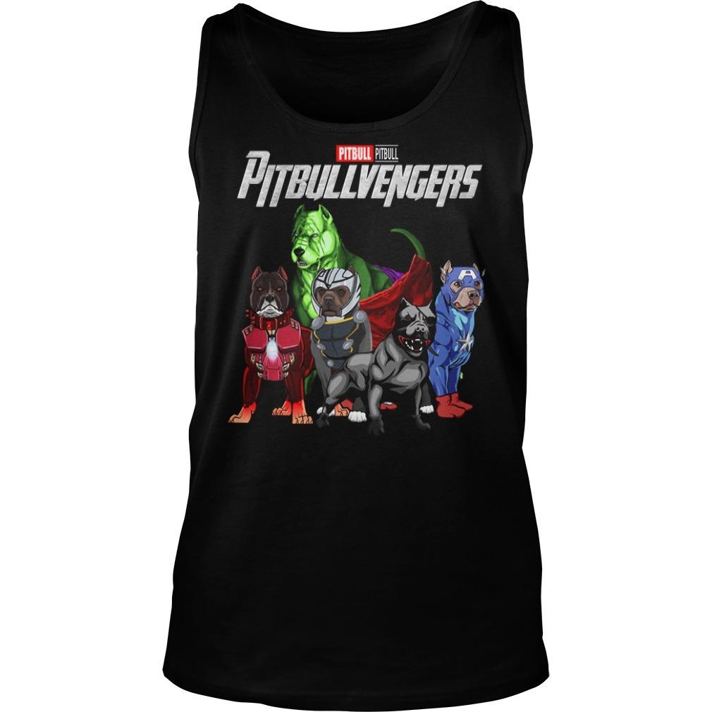 Marvel Avenger endgame pitbull pitbullvengers Tank top