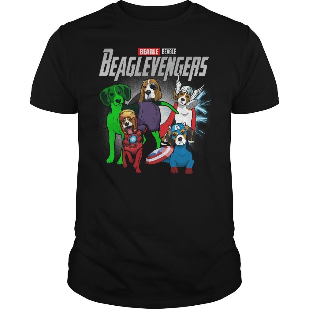 Marvel Beagle Beaglevengers Guys shirt