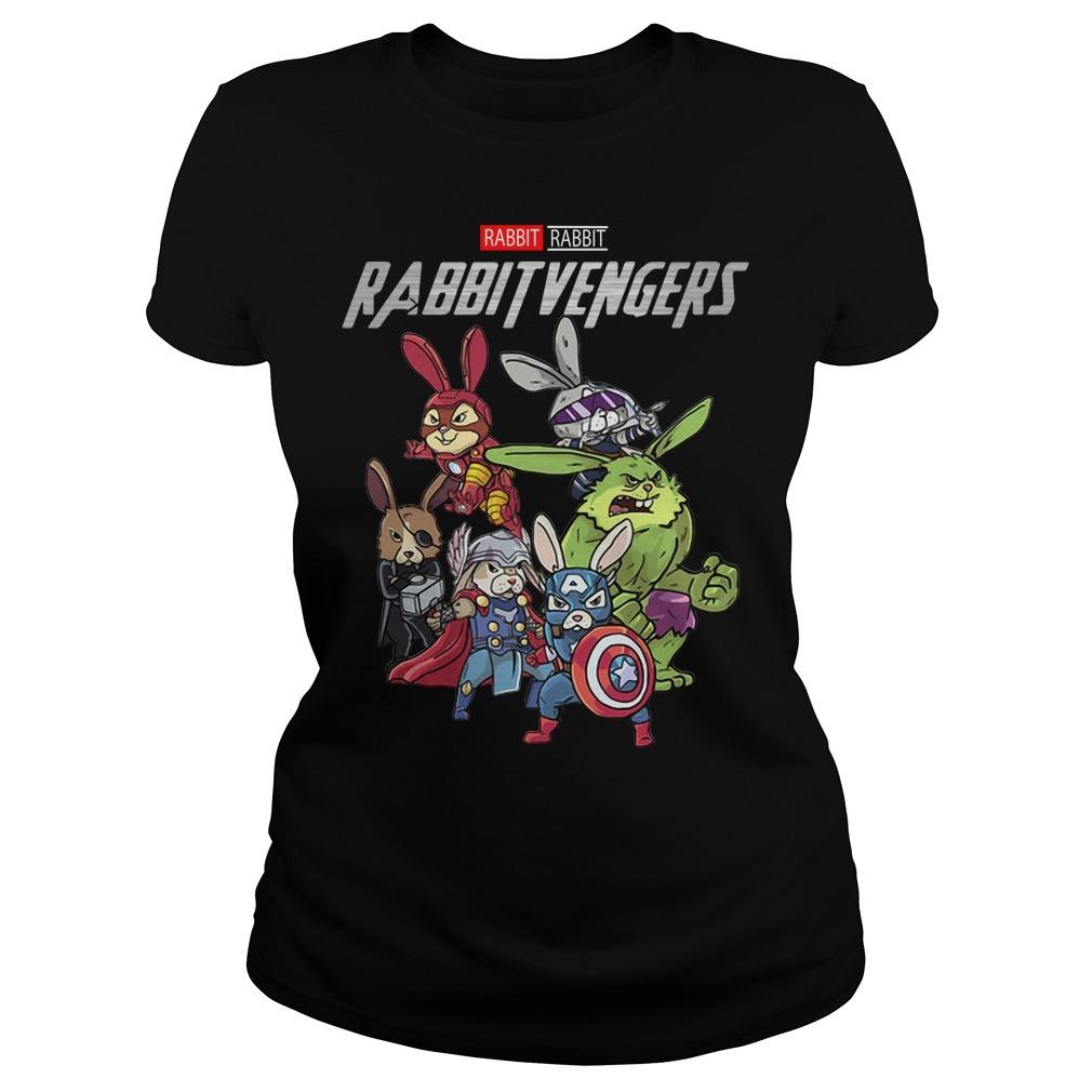 Marvel rabbit Rabbitvengers Ladies Tee