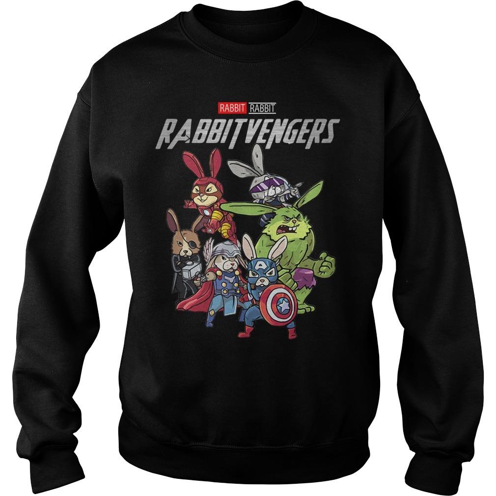 Marvel rabbit Rabbitvengers Sweater