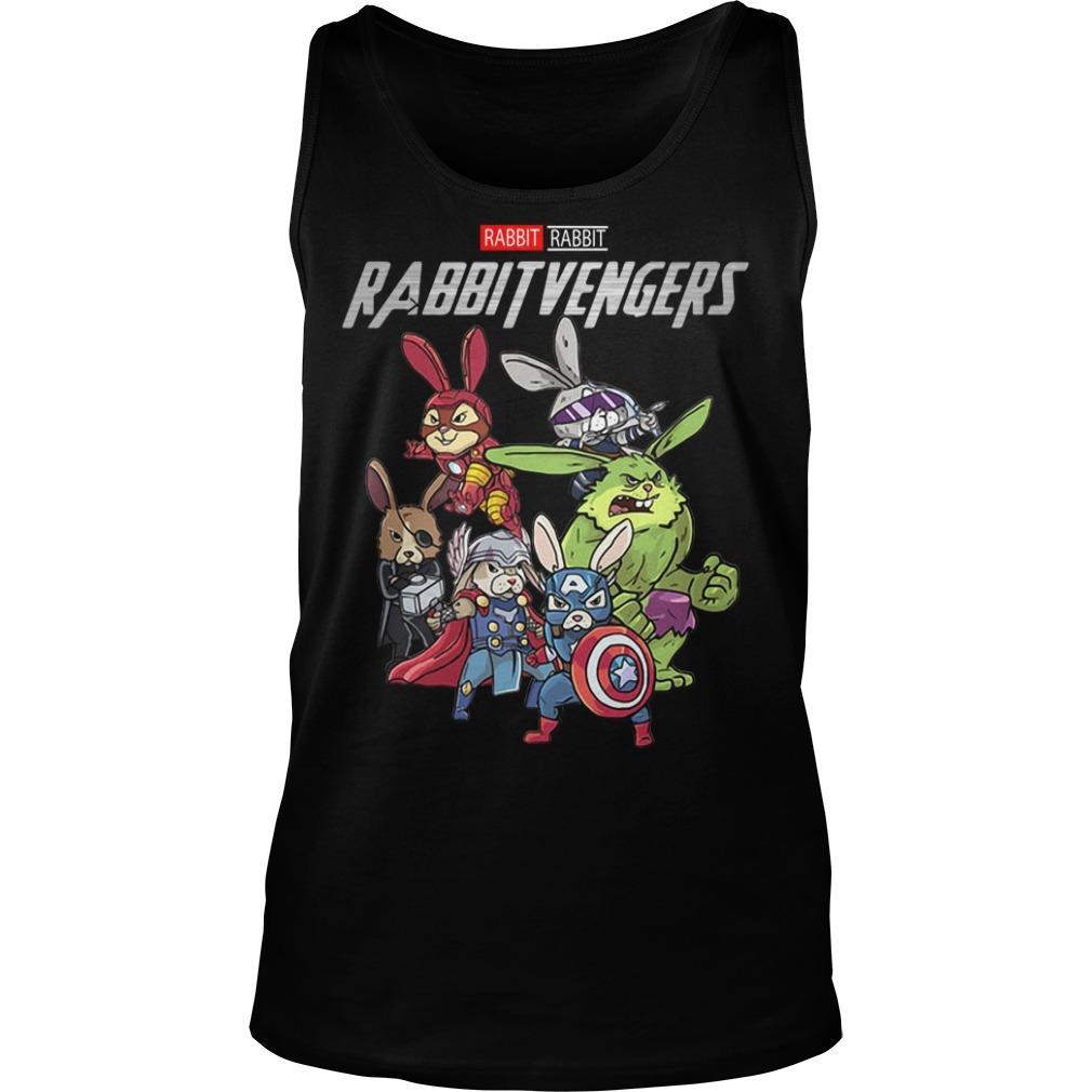 Marvel rabbit Rabbitvengers Tank top