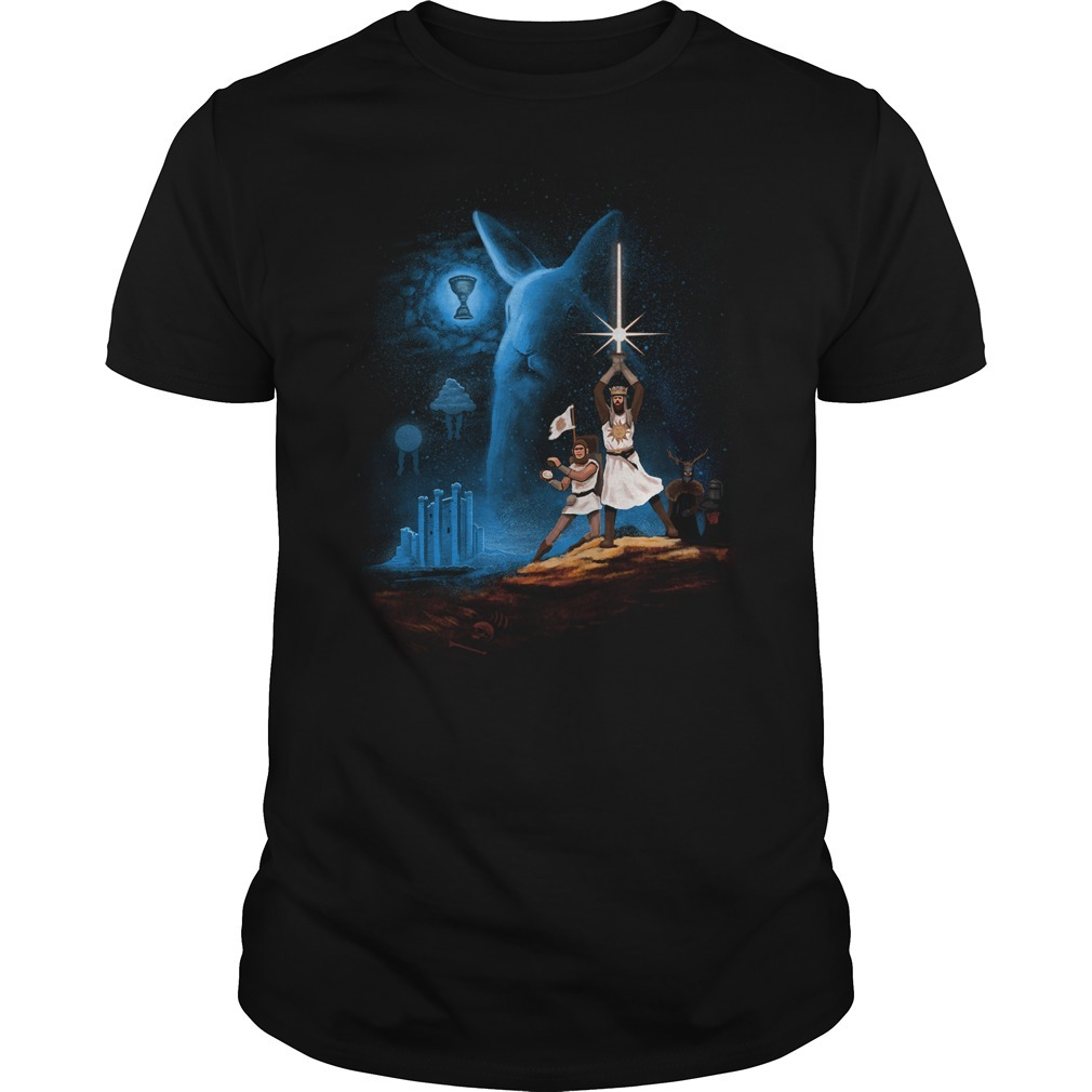 Monty Python holy grail rabbits Guys shirt