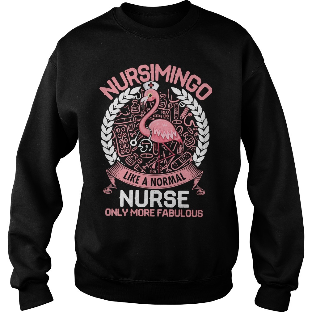 Nursimingo like a normal nurse only more fabulous Sweater