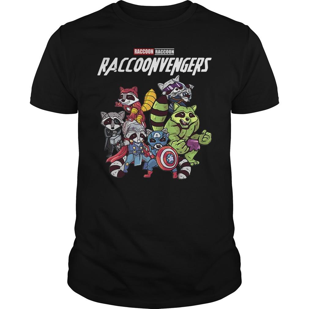 Raccoonvengers raccoon avengers Guys shirt