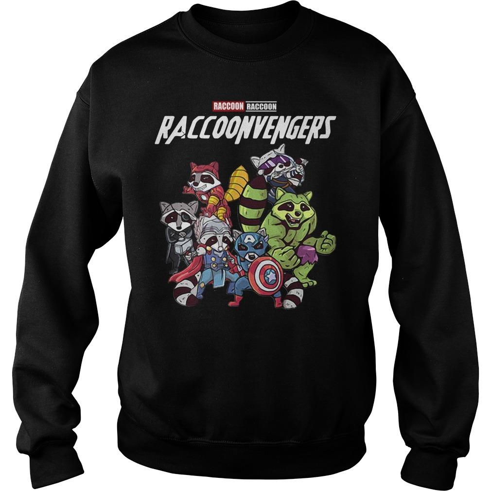 Raccoonvengers raccoon avengers Sweater