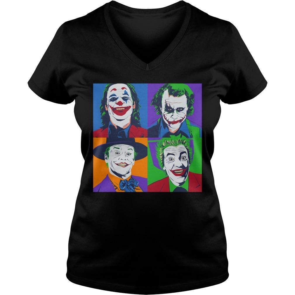 The Joker V-neck T-shirt