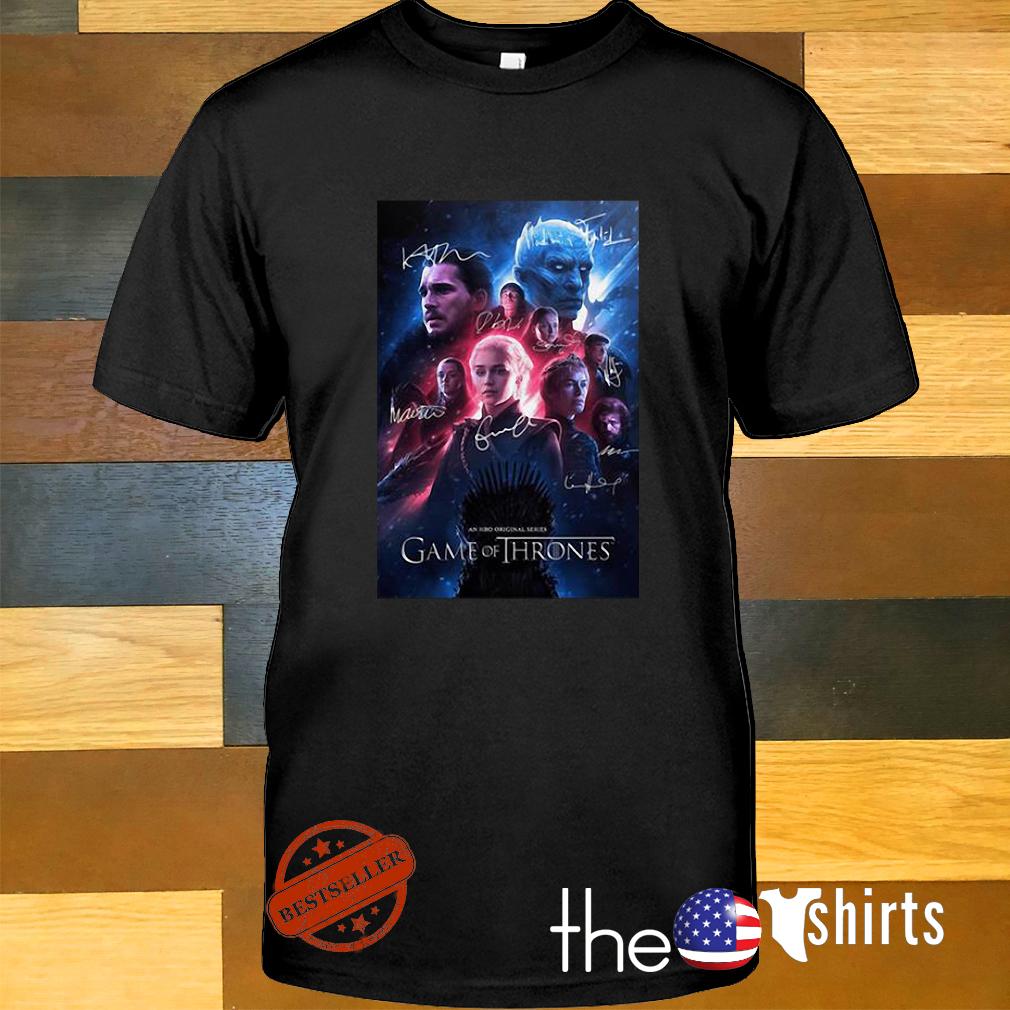 Game of Thrones an HBO original series signature shirt