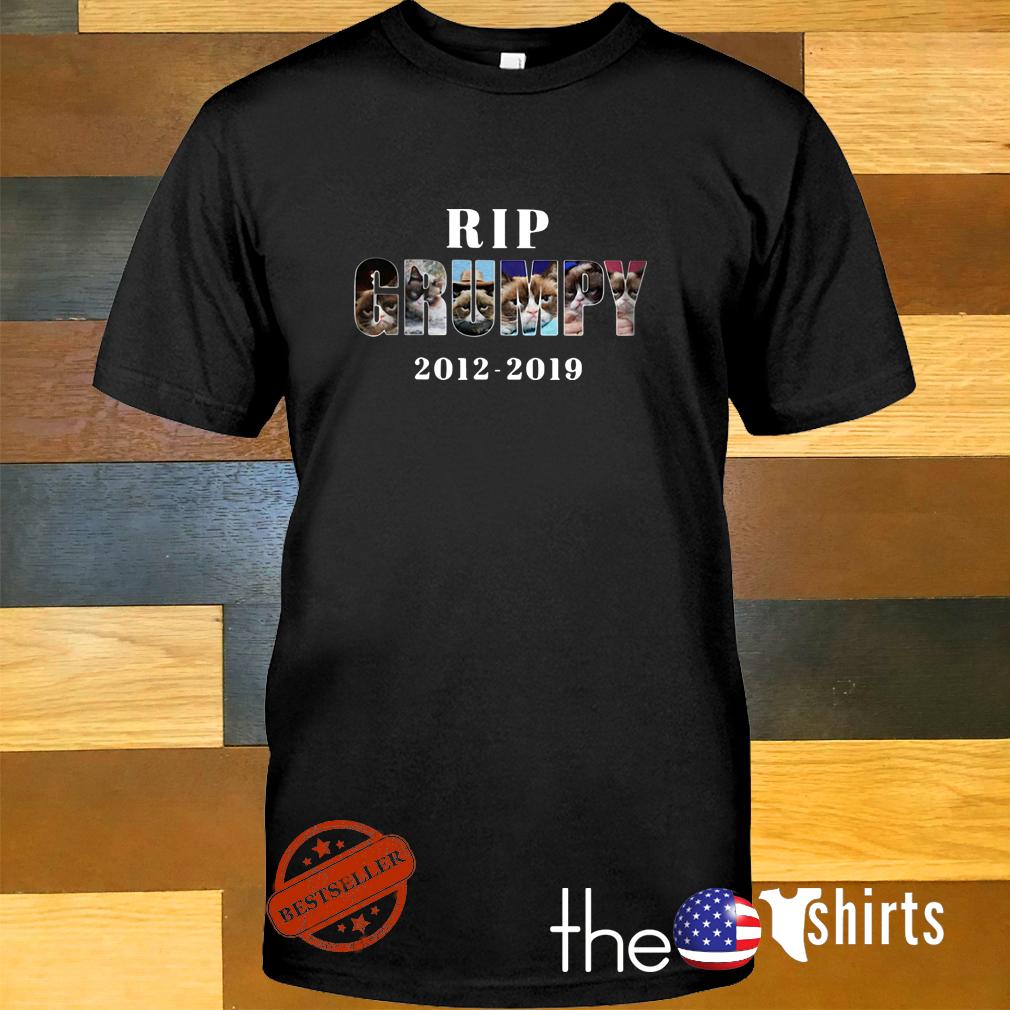 Rip Grumpy cat 2012-2019 shirt