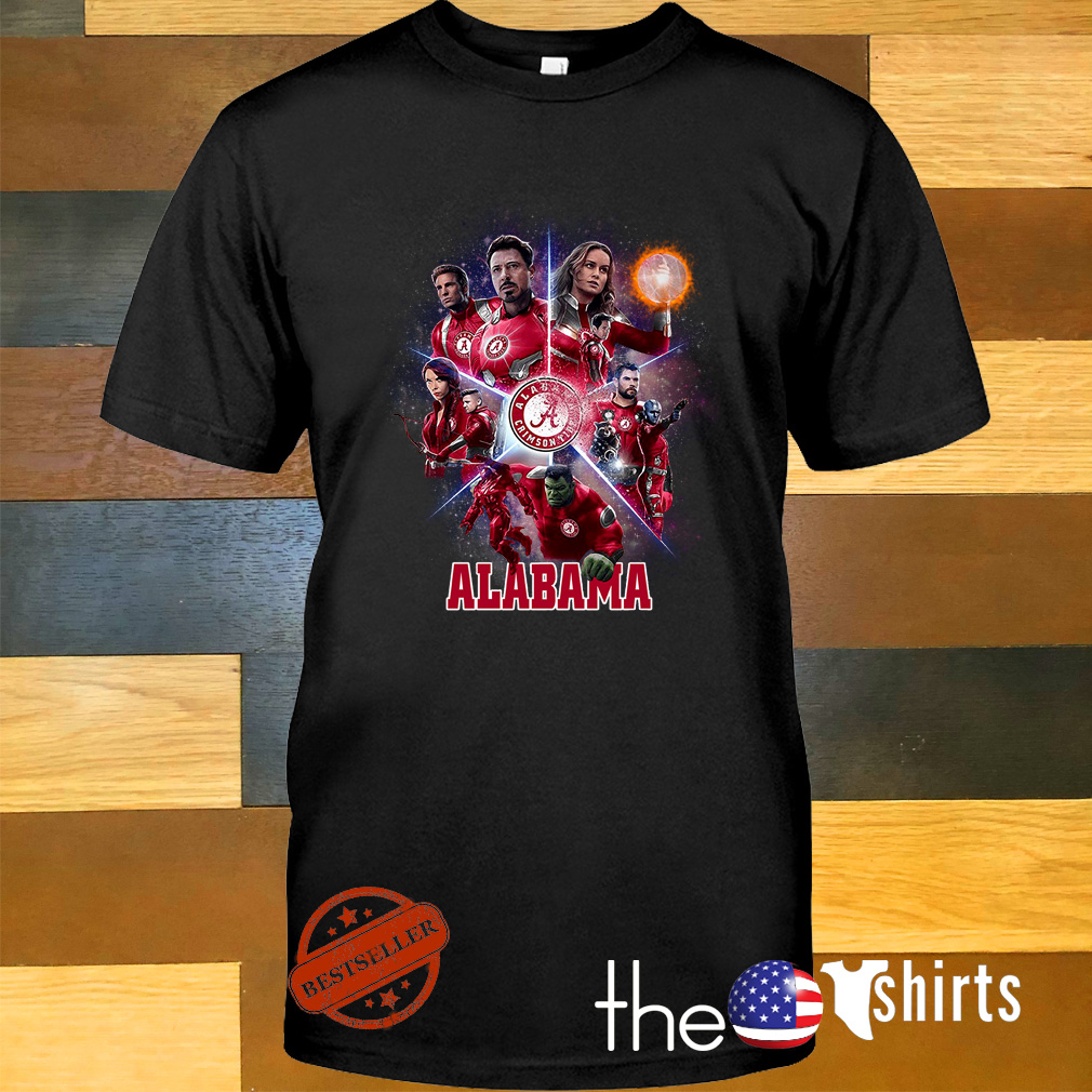 Alabama Crimson Tide Avengers Endgame shirt