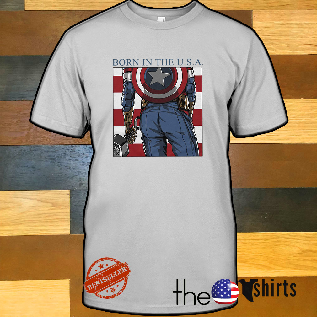 Born in the USA Captain America shirt