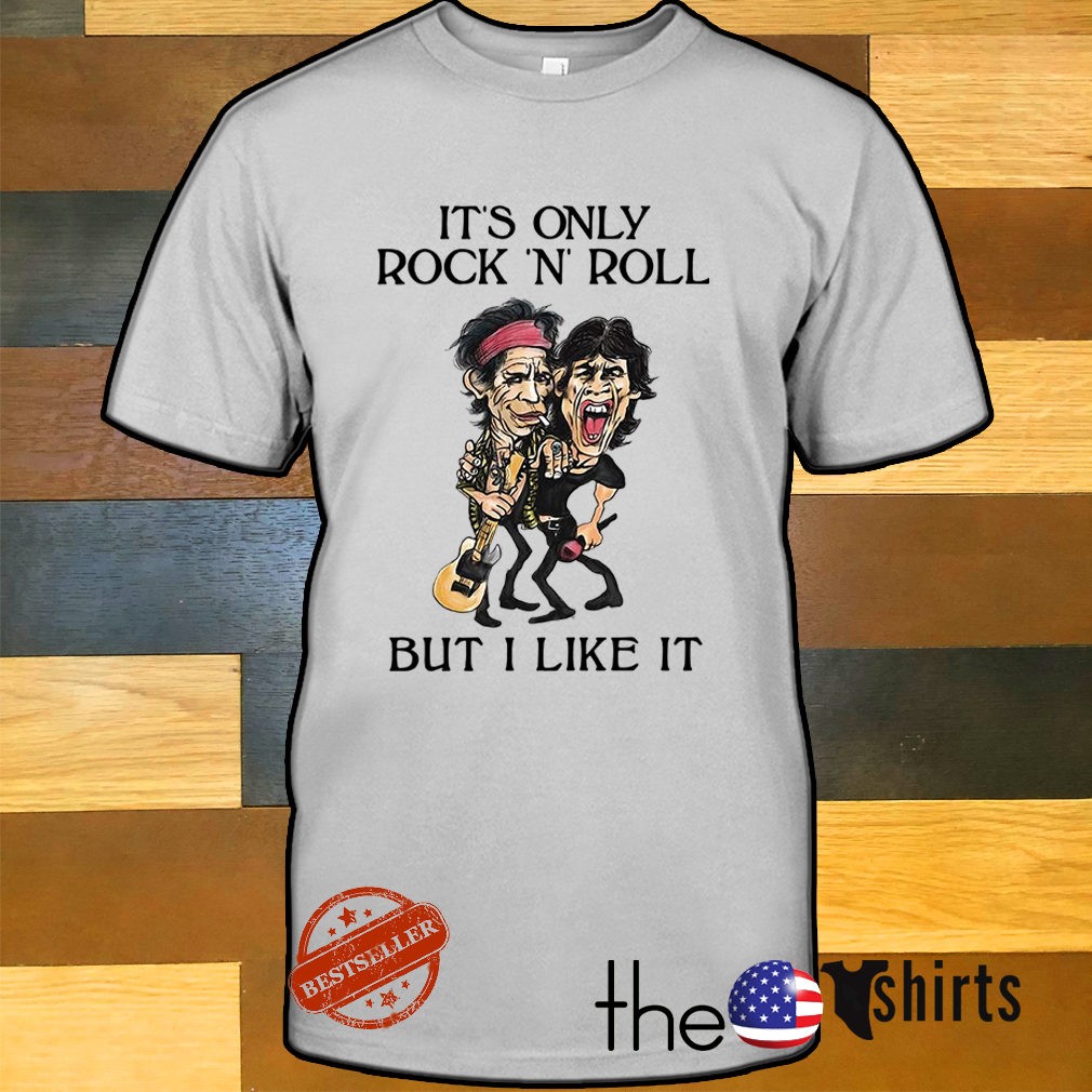The Beatles It's only rock n roll but I like it shirt