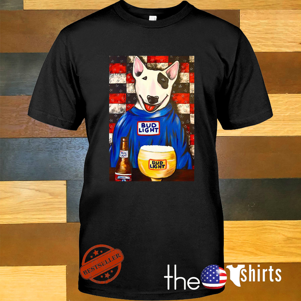 Spuds Mackenzie Bud Light bar shirt