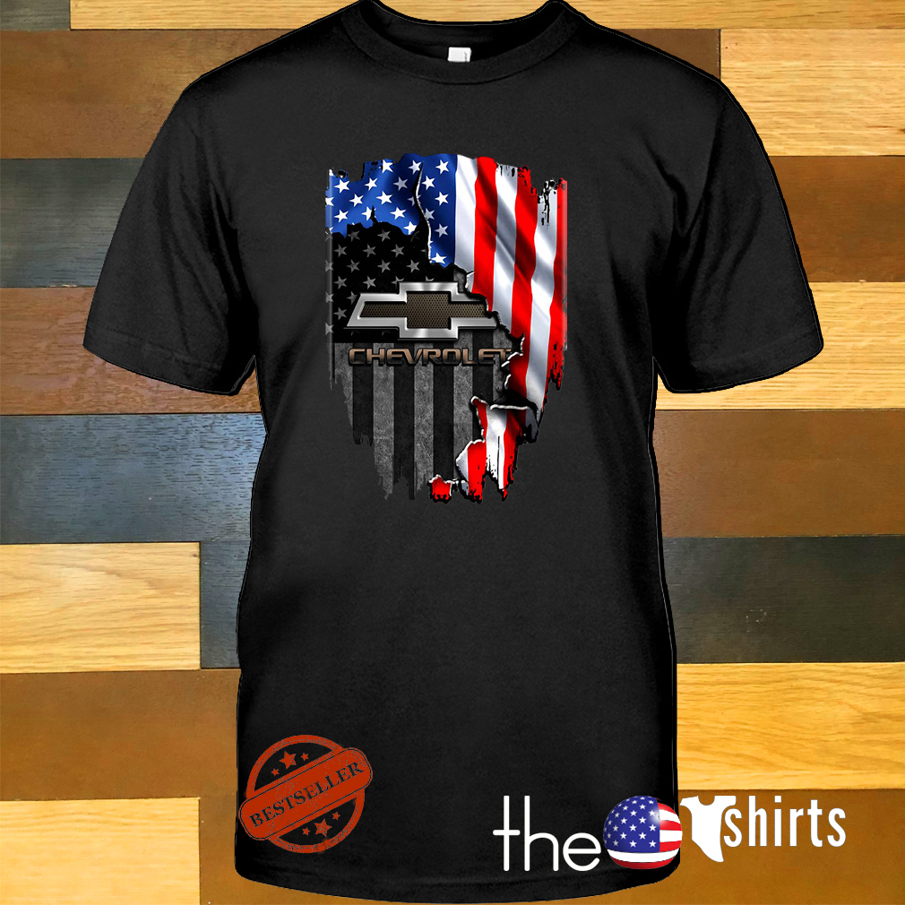 American flag Chevrolet shirt