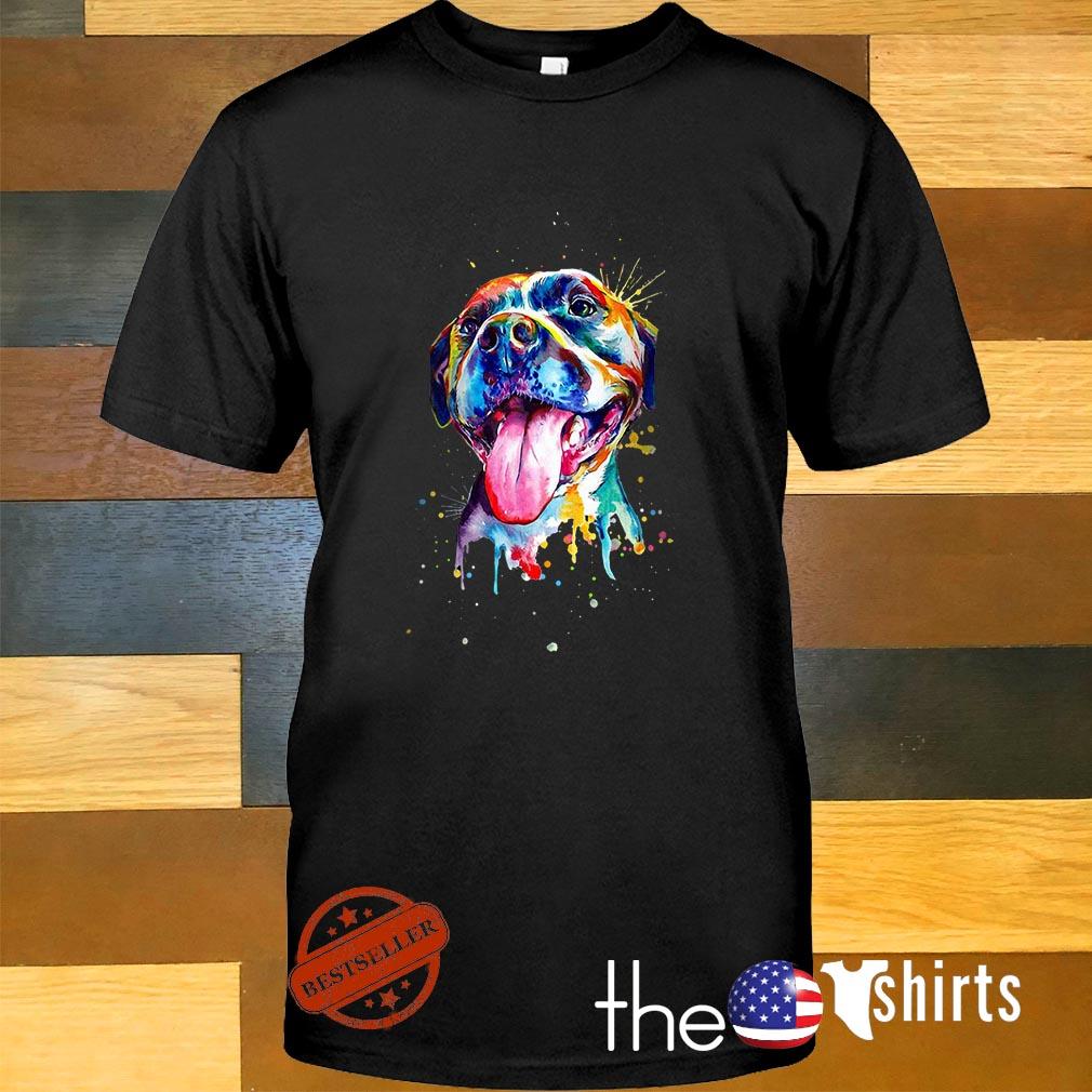 LGBT Pitbull shirt