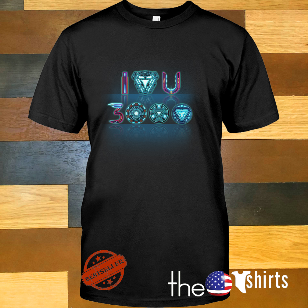 Iron man I love you 3000 times shirt