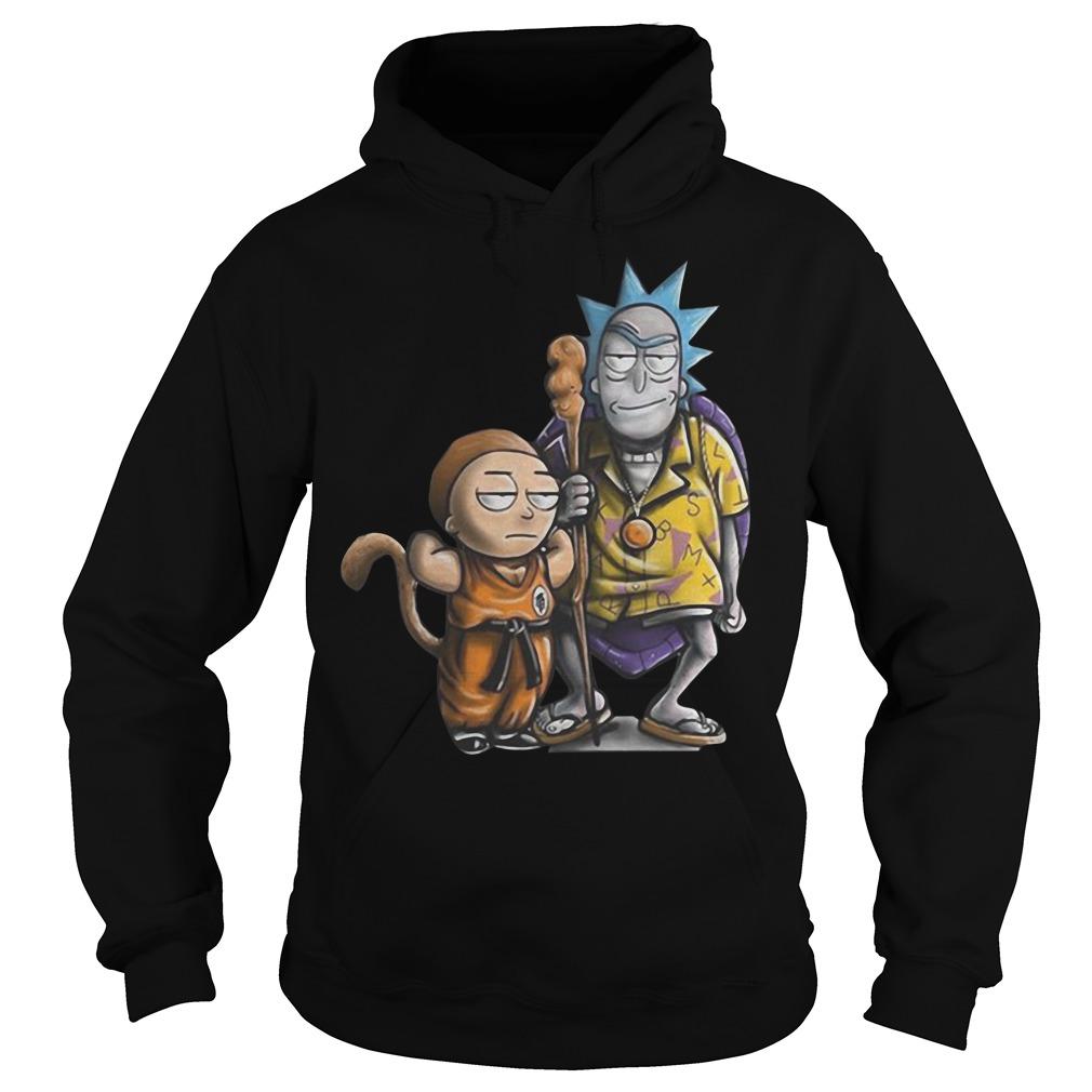 Rick and Morty dragon ball Hoodie