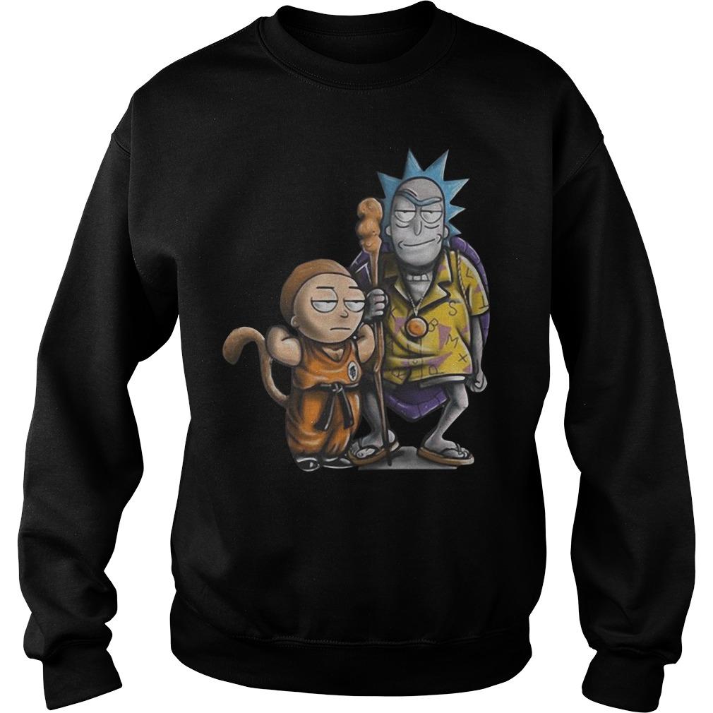 Rick and Morty dragon ball Sweater