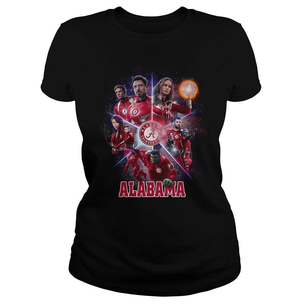 Alabama Crimson Tide Avengers Endgame Ladies Tee