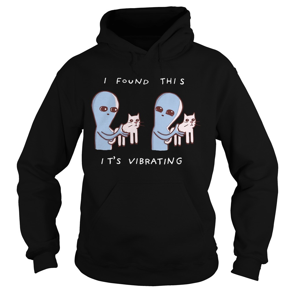 Alien cat I found this it's Vibrating Hoodie
