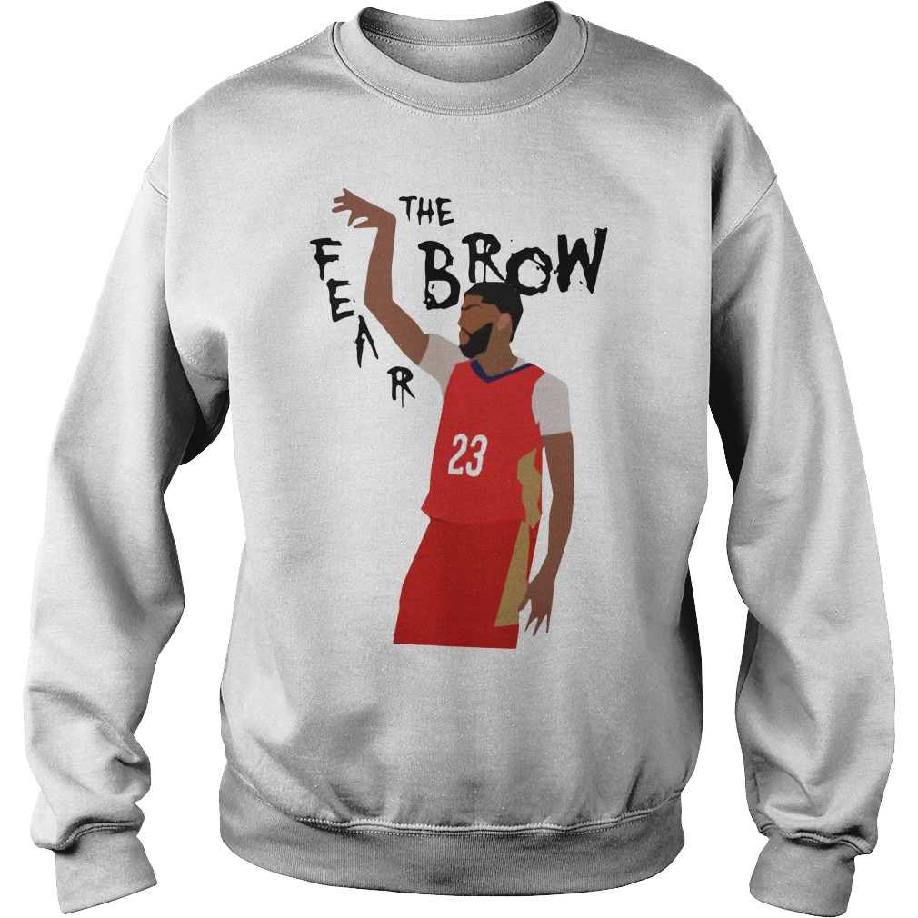 Anthony Davis fear the brow Sweater