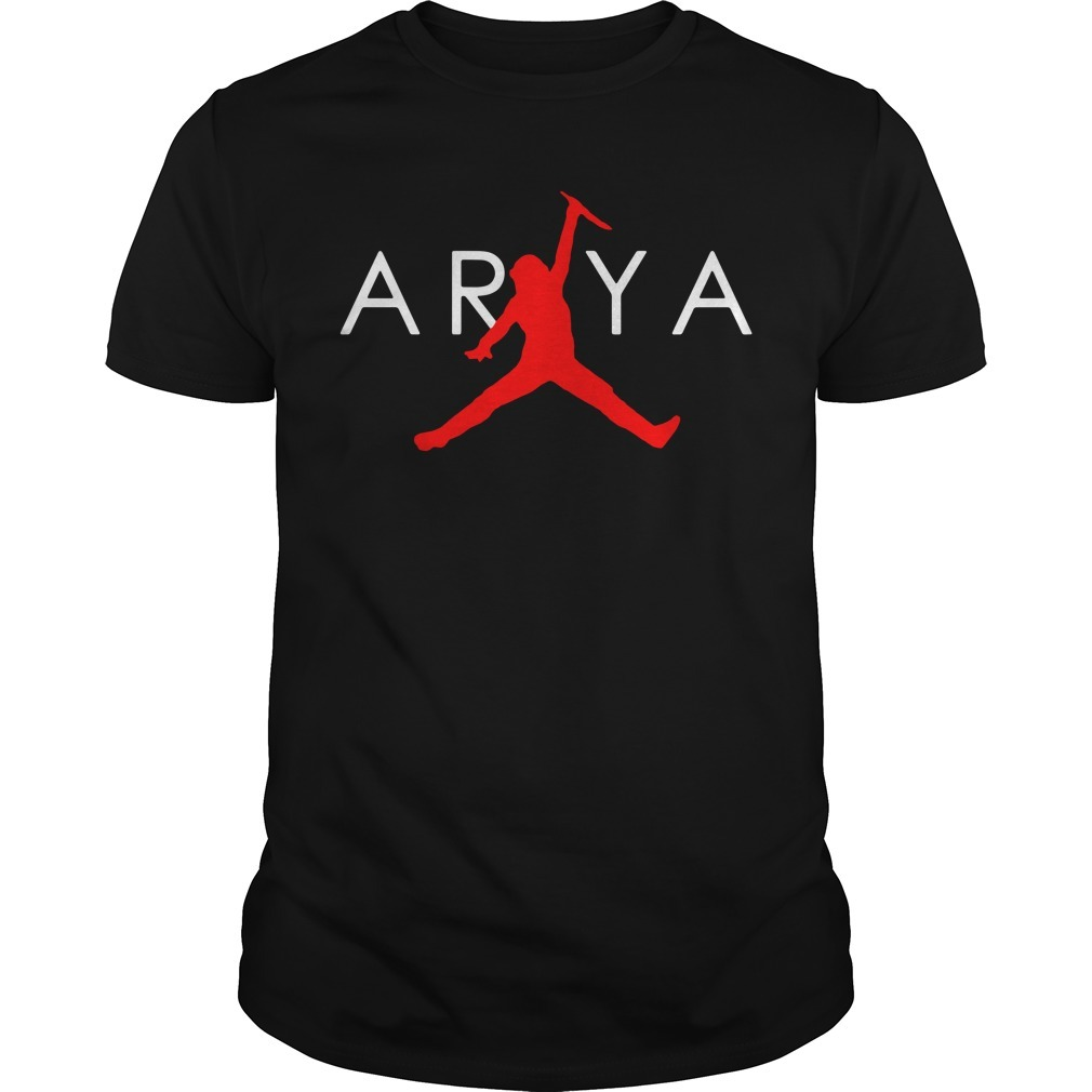 Arya Stark Air Jordan Game of Thrones shirt