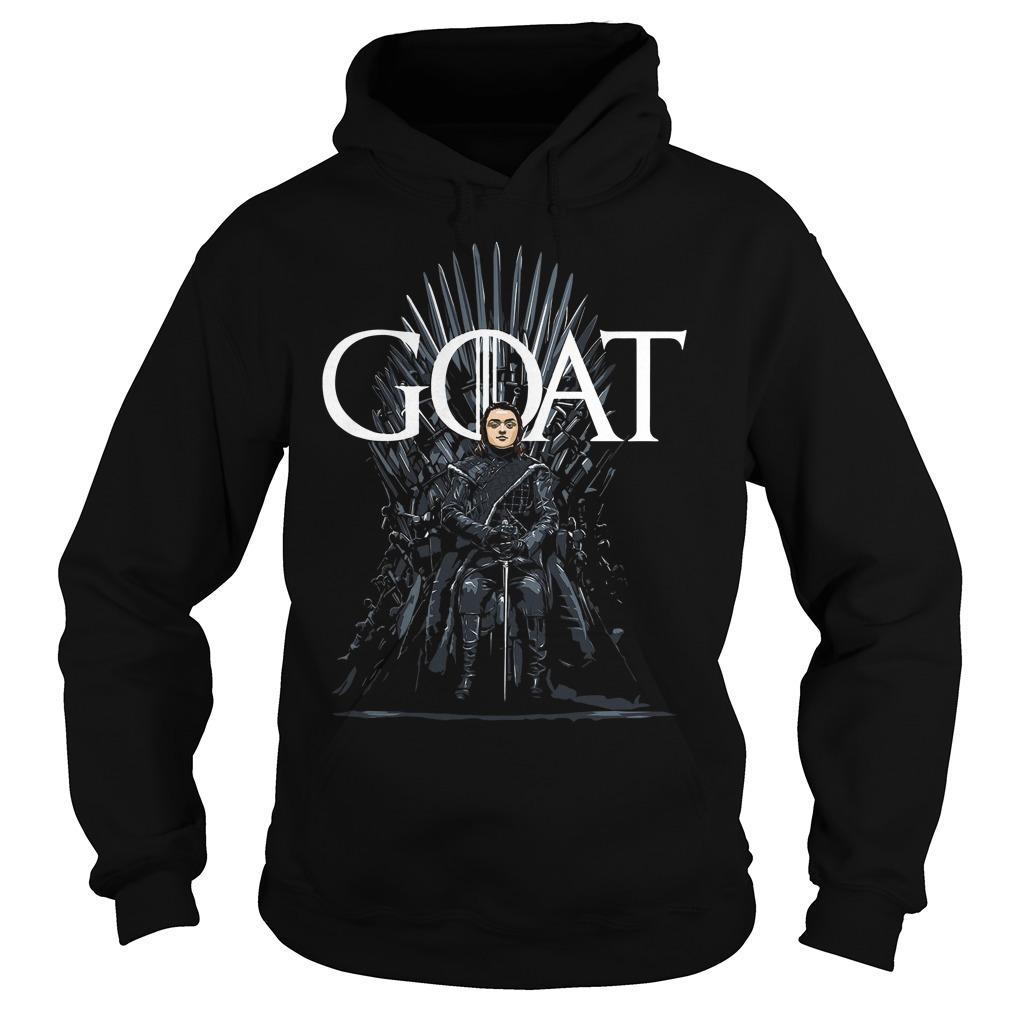 Arya Stark Goat Game Of Thrones Hoodie