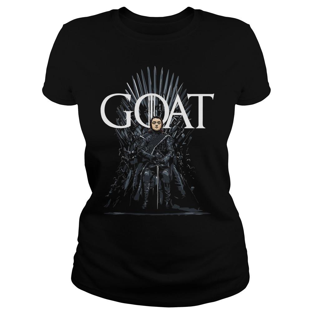 Arya Stark Goat Game Of Thrones Ladies Tee