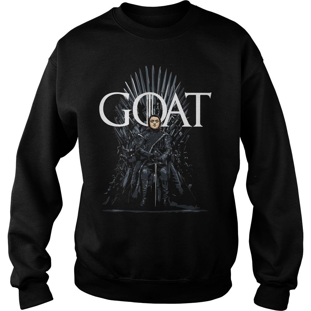Arya Stark Goat Game Of Thrones Sweater