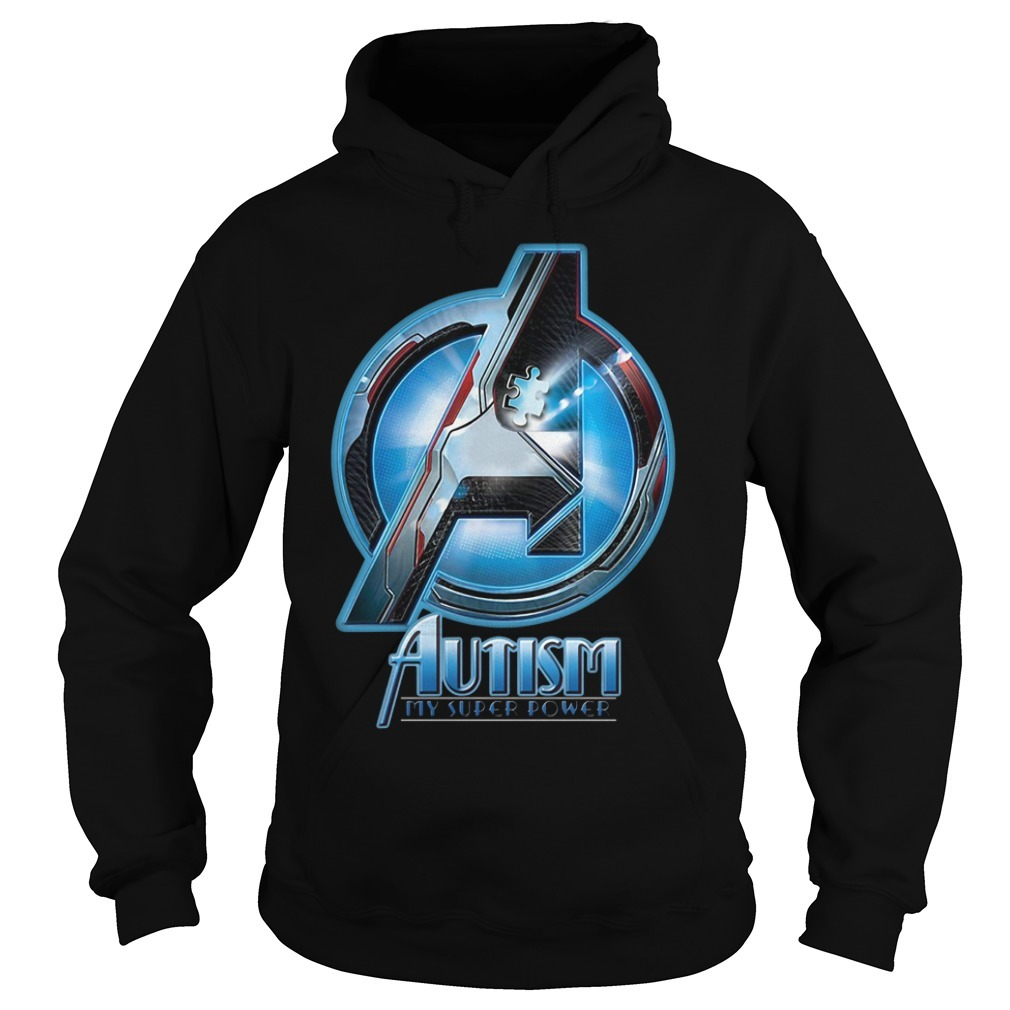 Avenger Autism my super power Hoodie