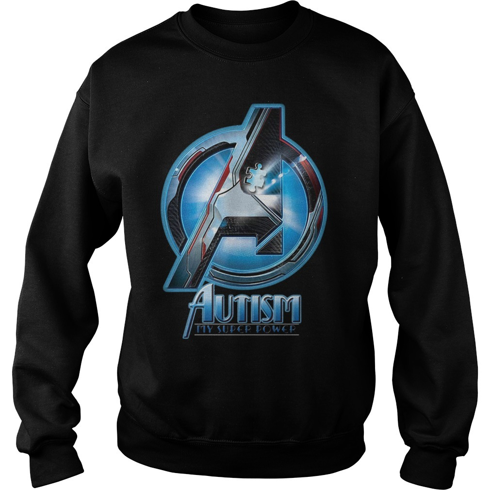 Avenger Autism my super power Sweater