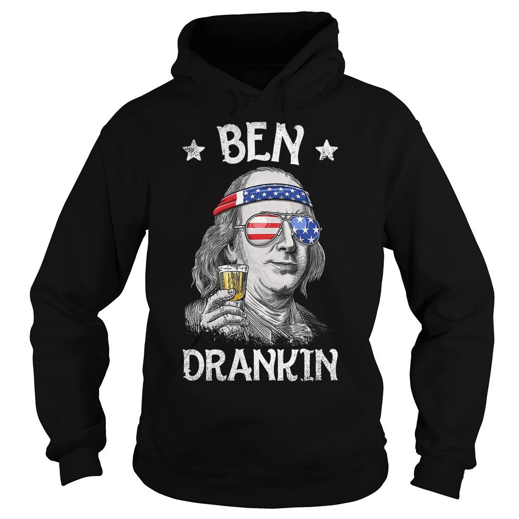 Ben Drankin Benjamin Franklin American vintage Hoodie