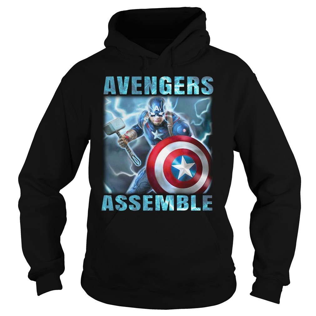 Captain America Avengers assemble Hoodie