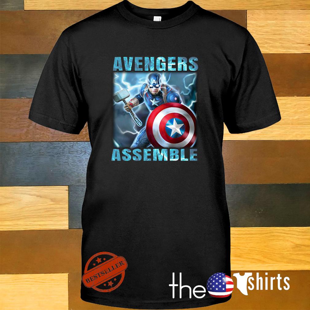 Captain America Avengers assemble shirt