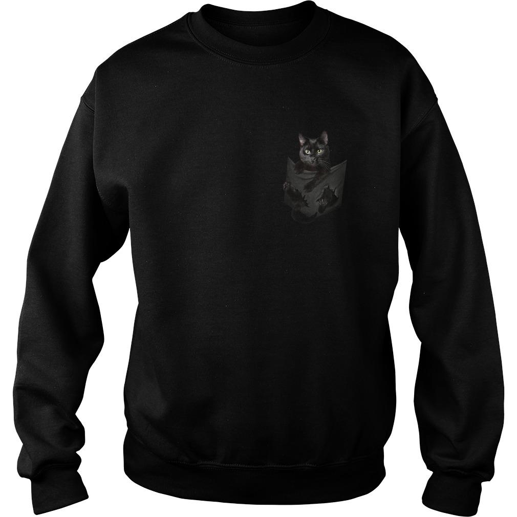 Cat in pocket Sweater