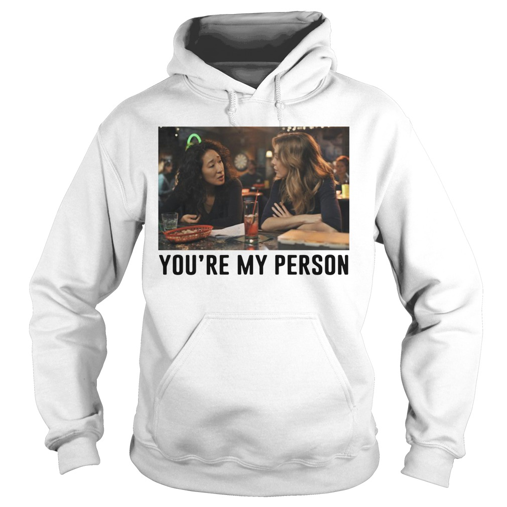 Charlie Southern you're my person Grey's Anatomy Hoodie
