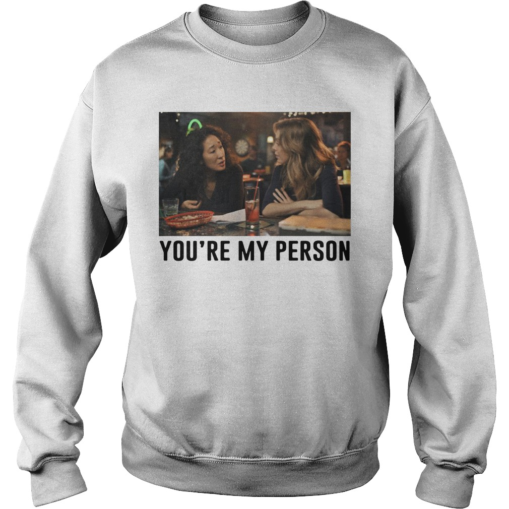 Charlie Southern you're my person Grey's Anatomy Sweater