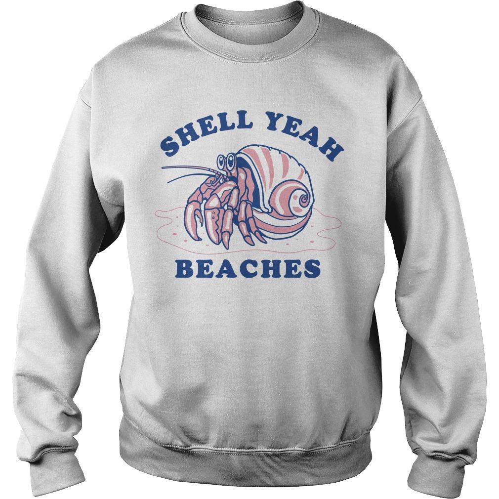 Dardanus calidus shell yeah beaches Sweater