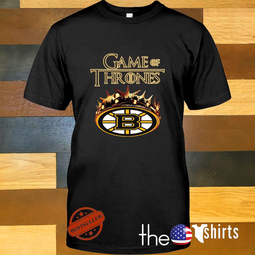 Game of Thrones Crown Boston Bruins mashup shirt