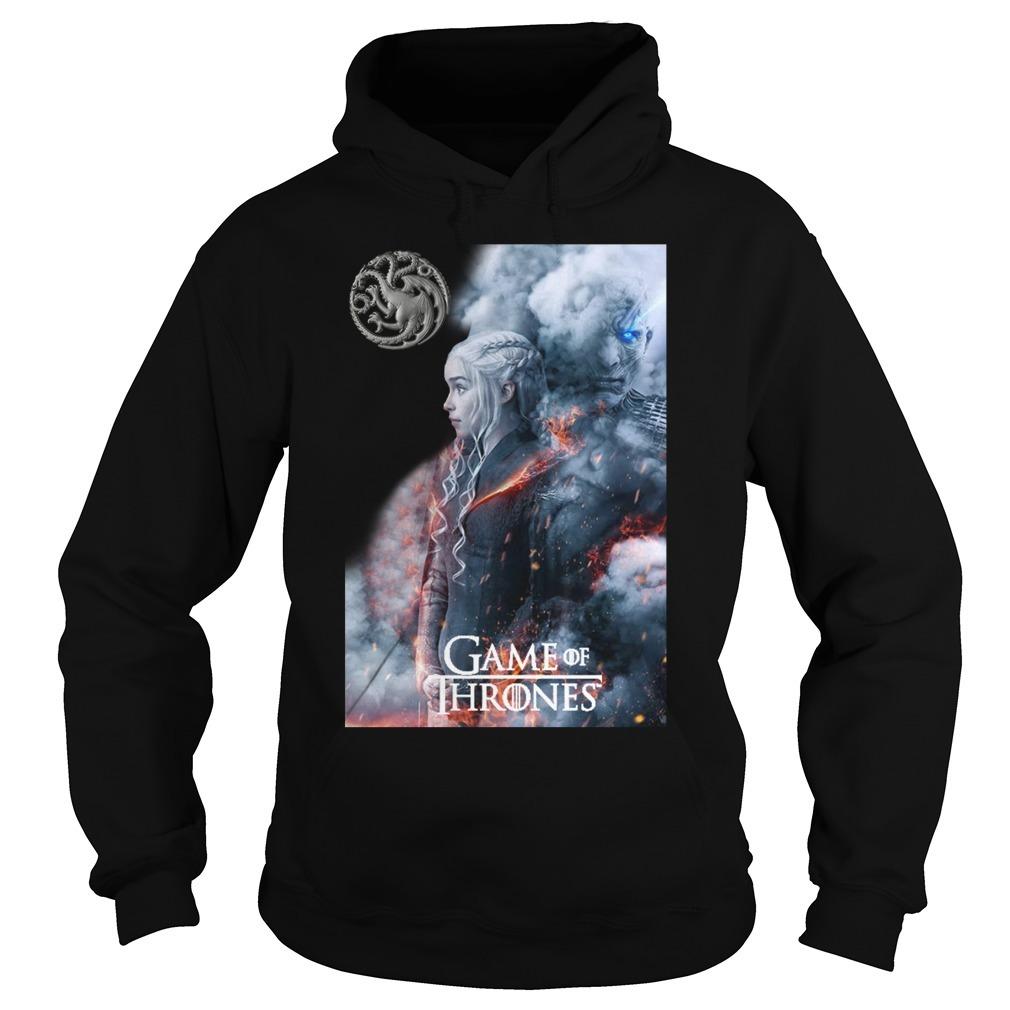 Game of Thrones Daenerys Targaryen and Night King Hoodie