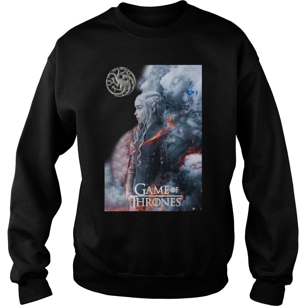 Game of Thrones Daenerys Targaryen and Night King Sweater