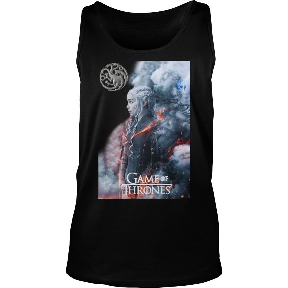 Game of Thrones Daenerys Targaryen and Night King Tank top