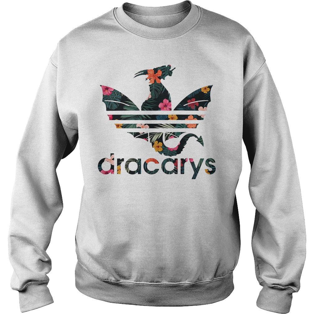 Game of Thrones Adidas dracarys green flower Sweater