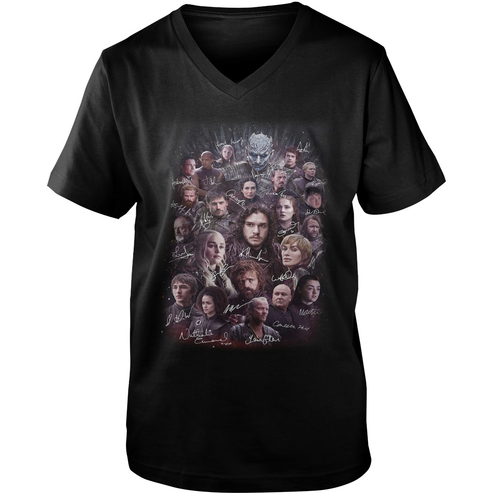 Game of Thrones character signature Guy V-Neck