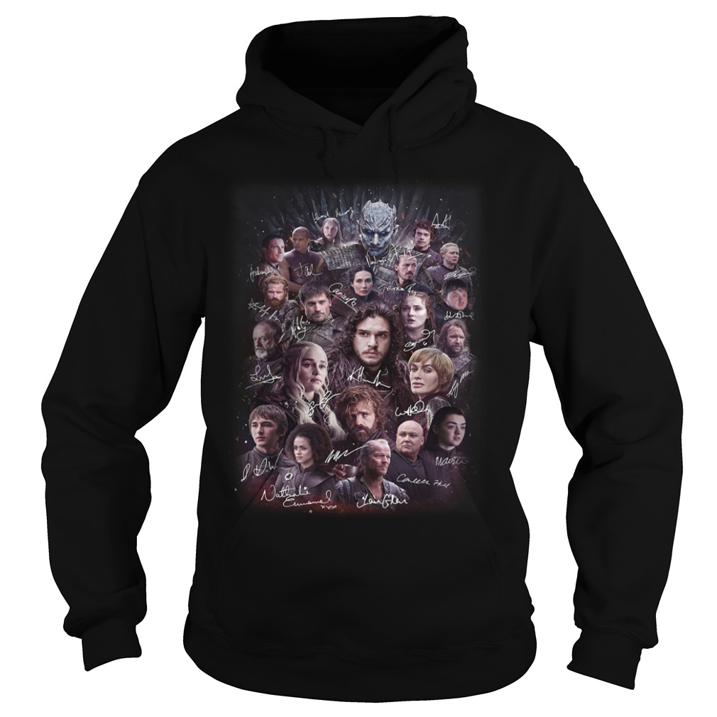 Game of Throne Hoodies character signature Hoodie