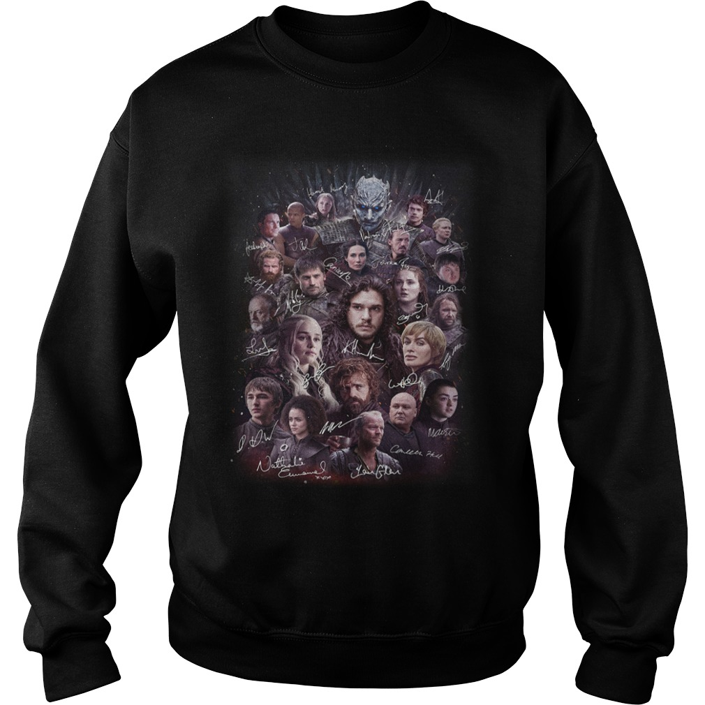 Game of Thrones character signature Sweater