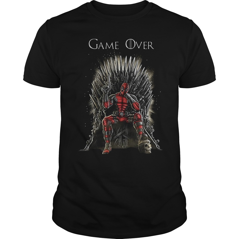 Game of Thrones Deadpool inspired Game of Thrones shirt